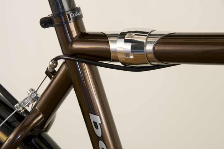 Baum Cycles Tobacco Brown Espresso Commuter Bicycle with S and S Couplings