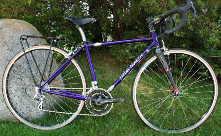 True North Cycles Road Bike with S and S Couplings