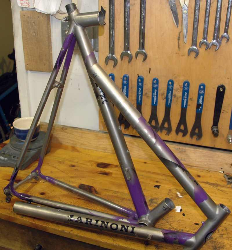 Marinoni Retrofit with S and S Couplings  by True North Cycles